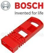 Bosch Genuine Rotak Red Isolator Key (To Fit:- Rotak Cordless Li-Battery Lawnmowers) c/w STANLEY Key Tape + Cadbury Chocolate Bar by Bosch