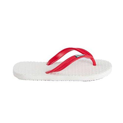 Multicolore Blanco Spezie Rojo Pantofole Uomo Dintérieur Multicolore PwfRq7