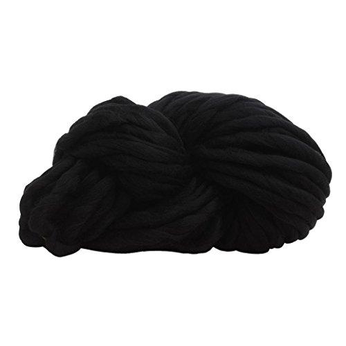 HLHN Strickgarn Blanket Yarn Super Chunky garn Knit Hand Stricken Häkeln Weben Teppich Garn DIY Set (Set Hand Knit)