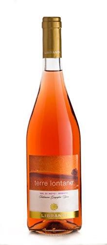 Librandi vino igt val di neto rosato terre lontane - 2017-3 bottiglie da 750 ml