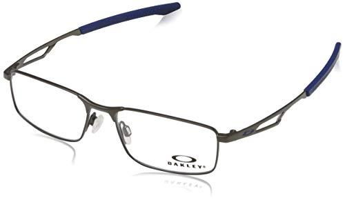 Oakley Herren Brillengestelle Barspin Silber (Plateado) 49
