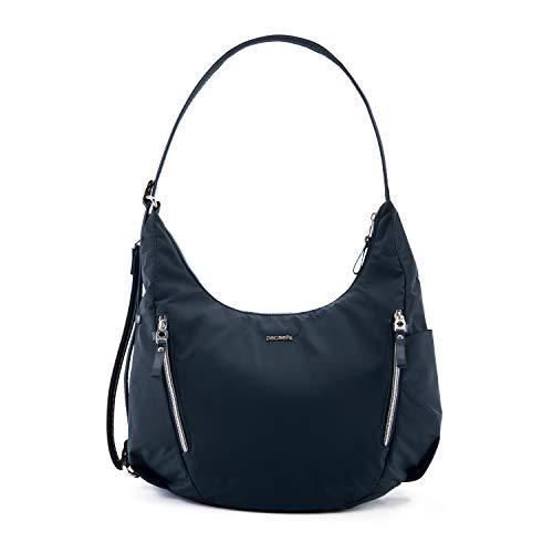PacSafe Stylsafe Anti-Theft Convertible Crossbody Bag Umhängetasche, 38 cm, 10 liters, Blau (Navy Blue 606) - Convertible Messenger Bag