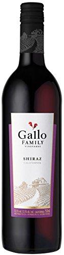 6x 0,75l - 2015er - E. & J. Gallo - Family Vineyards - Shiraz - Kalifornien - Rotwein trocken