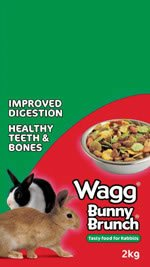 Wagg Bunny Brunch Rabbit Food 15kg from Pet-Bliss
