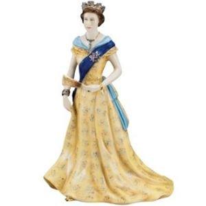 Royal Worcester - H.M Queen Elizabeth II Figurine