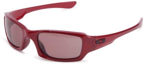 Oakley Speicherstick Squared-Sonnenbrille, Rot - Metallic Red - Größe: OO Grey Polarized