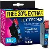 Jet Tec Patrone E85B Extra Life Tinte schwarz Stylus Photo 950