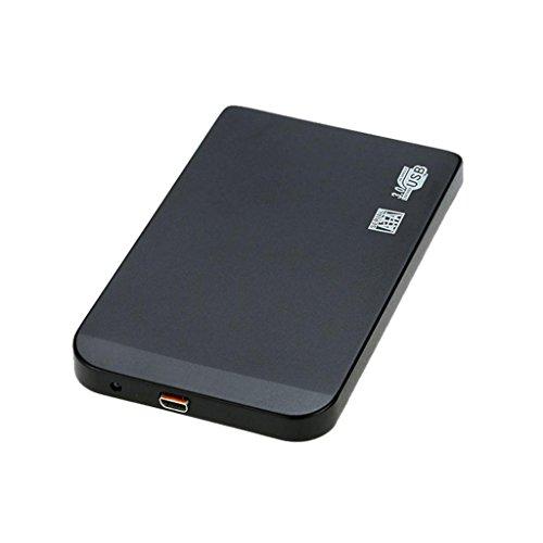 Super Slim CSL Screwless Design pour disques durs S-ATA III 2.5 | Compatible avec Les Versions inf/érieures 6,4 cm SSD + HDD USB 3.0 Bo/îtier de Disque durs externes