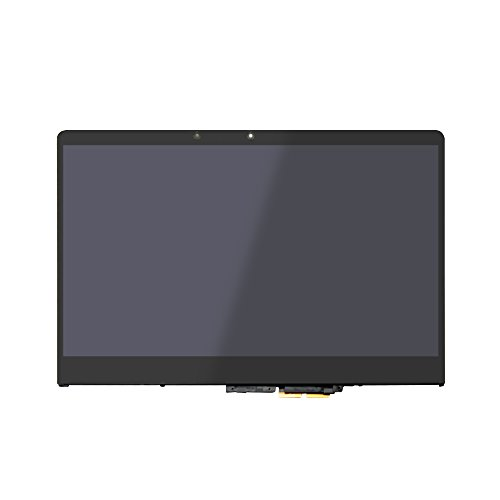 FTDLCD® 14 Zoll FHD LED LCD Touchscreen Digitizer Display Assembly mit Rahmen für Lenovo Yoga 710-14IKB 80V4 (edgeless Display) Touch Screen Assembly