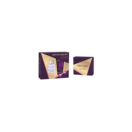 Pierre Cardin pour femme l'Intense Ensemble cadeau Contient Eau de parfum en flacon vaporisateur 50ml et lotion pour le corps 150ml