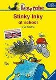 Leserabe Englisch. Stinky Inky at school. Erstes Englisch mit Vokabel-Verzeichnis