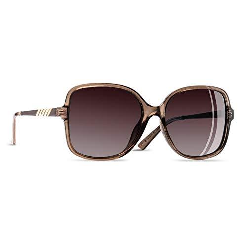 Sie Elegante Sonnenbrille-Frauen-Übergroße Rahmen-Polarisierte Damen-Sonnenbrille Uv400 Eyewear ()