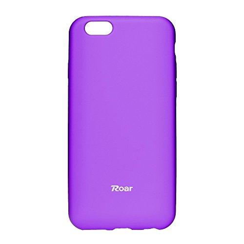 Roar 99356146987841 Colorful Jelly Case für Apple iPhone 5G/5S/SE lila (Iphone Case Lila 5 Jelly)