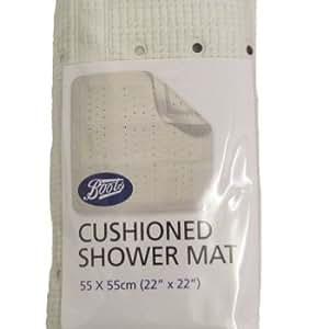 New Boots Non Slip Bathroom Shower Mat Cushioned Bath 55 X