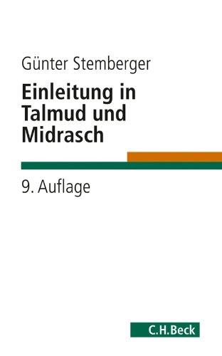 Einleitung in Talmud und Midrasch (C.H. Beck Studium) - Kindle Talmud