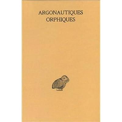 Les Argonautiques orphiques
