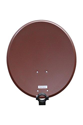 Opticum QA60 Antena satélite Aluminio 60 cm ladrillo