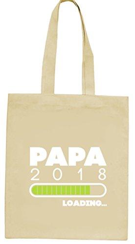 Geschenkidee Vatertag Geburt natur Jutebeutel Stoffbeutel Tote Bag Papa 2018 Loading... Natur
