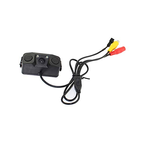 Leslaur PZ451 3 In 1 Auto Umkehr Kit Video Einparkhilfe Backup Hinten Smart View Kamera Radarwarner Sensoren Summer Alarm Hinten View Video-kamera