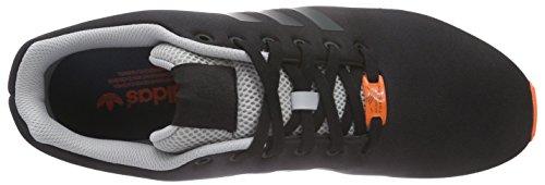 adidas ZX Flux, Sneakers Basses Homme Noir - Schwarz (CBLACK/CBLACK/FTWWHT)