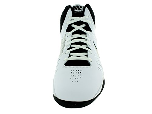 Nike Air Visi Pro Vi, espadrilles de basket-ball homme Blanco / Negro / Gris (White / Black-Cool Grey)