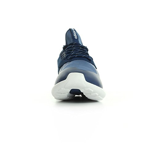 adidas Tubular Runner, Baskets Basses Homme Bleu et blanc