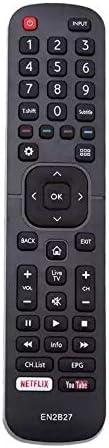 EN2B27 TV Remote Control Replacement for Hisense tv