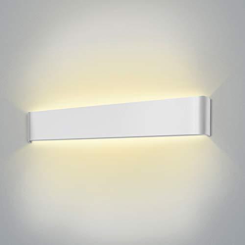 Aplique Pared Interior moderno LED Wowatt 20W Lámpara Blanco Cálido 2800k AC 220V Lámpara de pared...