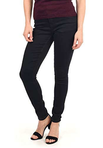 ONLY Wonder Damen Jeans Denim Hose Regular-Waist, Größe:W31/32, Farbe:Black Denim