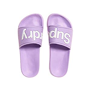 Superdry Damen Eva Pool Slide Zehentrenner