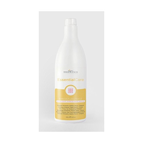 Light Irridiance Essential Care Moisturizing - Champú hidratante 1000mL 1L para cabellos secos / crespos | Manteca de Karité