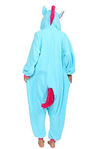 wotogold Tier Pyjamas Unisex Erwachsene und Kinder Cosplay Kostüme Blau