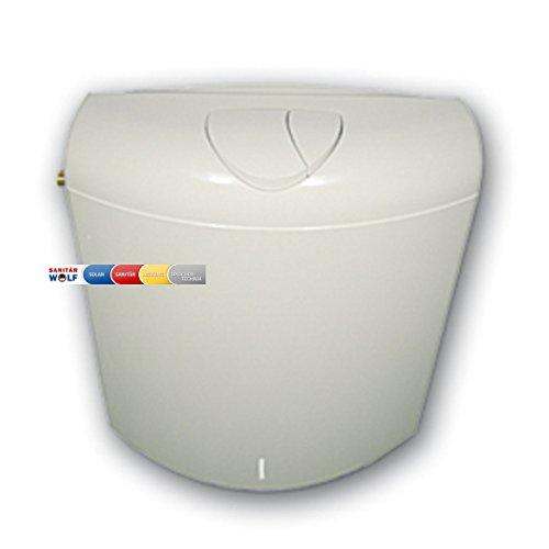 WC Spülkasten Concept 100 VERONA - 6 liter - weiss 2 Mengen SANIT