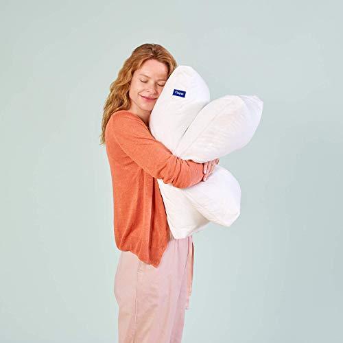 Casper Kopfkissen 40 x 80 - Kissen risikofrei Probeschlafen - Nackenstützkissen waschbar, atmungsaktiv und kühlend