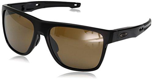 Oakley Herren Crossrange XL OO9360 Sonnenbrille, Schwarz (Negro Mate), 0