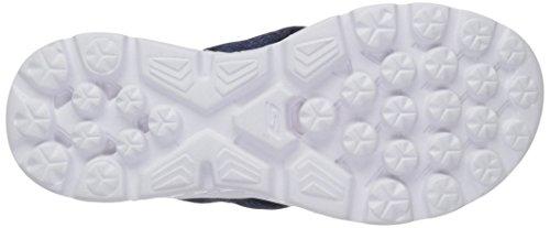 Benzina Sandali Vanno Navy Skechers A 400 Bianco Su Nero 7Tqn6w