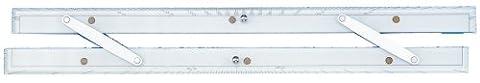 Weems & Plath Marine Navigation Parallel Ruler (24-Inch) by Weems & Plath
