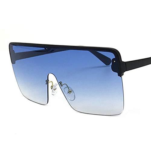 TIANKON Oversize Half Frame Square Sonnenbrille Frauen Schutzbrille Uv400 Schutzbrille,A6d