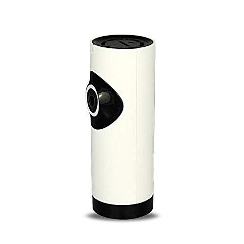 XIONGDA Drahtlose WiFi-Kamera, Fisheye-Objektiv zur Überwachung von Zuhause, Nachtsicht, Zwei-Wege-Stimme, Bewegungserkennungsalarm, Voice Broadcast Navigation