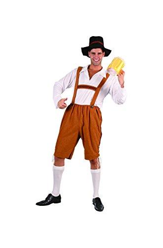 Tiroler Kostüm Erwachsene Einheitsgröße ca. eine M