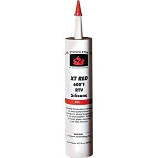 Super Red 600 Degree Silicone Sealant by AW Perkins