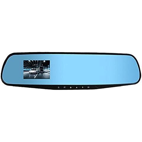 Koly 2.8 Full HD 1080P cámara auto del coche DVR espejos retrovisores Video Recorder Dash Cam