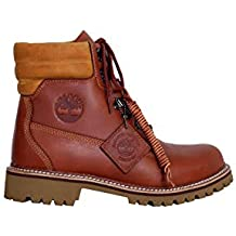 Timberland Uomo - Stivaletti Icon Collection in Pelle Marrone 7bcc4a00db9