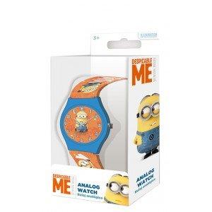 Reloj analogico Minions Orange