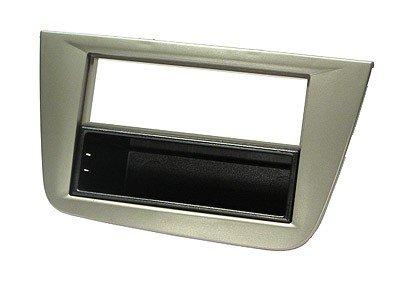 sound-way KIT Montage autoradio Fa/çade Cadre de Radio 2 DIN Seat Altea//Altea XL//Toledo Gris