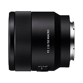 Sony SEL-50M28 E-Mount Vollformat Makroobjektiv (FE 50 mm F2.8, E-Mount Vollformat, geeignet für A7 Serie, A6300 und A6500) schwarz