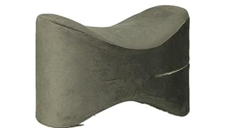XIAOMEIXI Polyester Coussin de jambes avec housse d'oreiller amovible Hypoallergénique Respirant Confortable Lit anti-acariens résistant aux