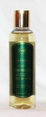 Bois de Cèdre Atlas Bio Huile acné Peau pellicules Cheveux à l'huile Huile pour le corps Peaux Huile Cheveux Oil- par P + 50 - sans parfum