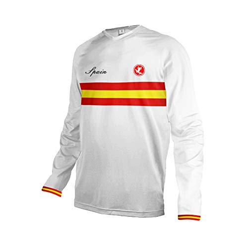 Uglyfrog Nationalflagge Streifen Cycling Jersey Downhill Fahrrad Trikots & Shirts Kurzarm/Langarm Atmungsaktiv/Praktisch Mountain Bike Wear