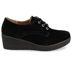 Zapato de cu a con Cordones...